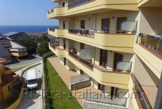 BEL 229, Appartamenti nuovi con vista mare a Belvedere Marittimo