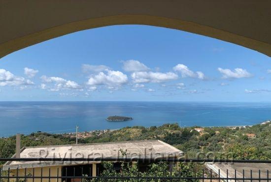 DIAM V 221, Villa indipendente con giardino e vista mare a Diamante