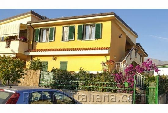 SCA 265, Ground apartment with garden in Scalea